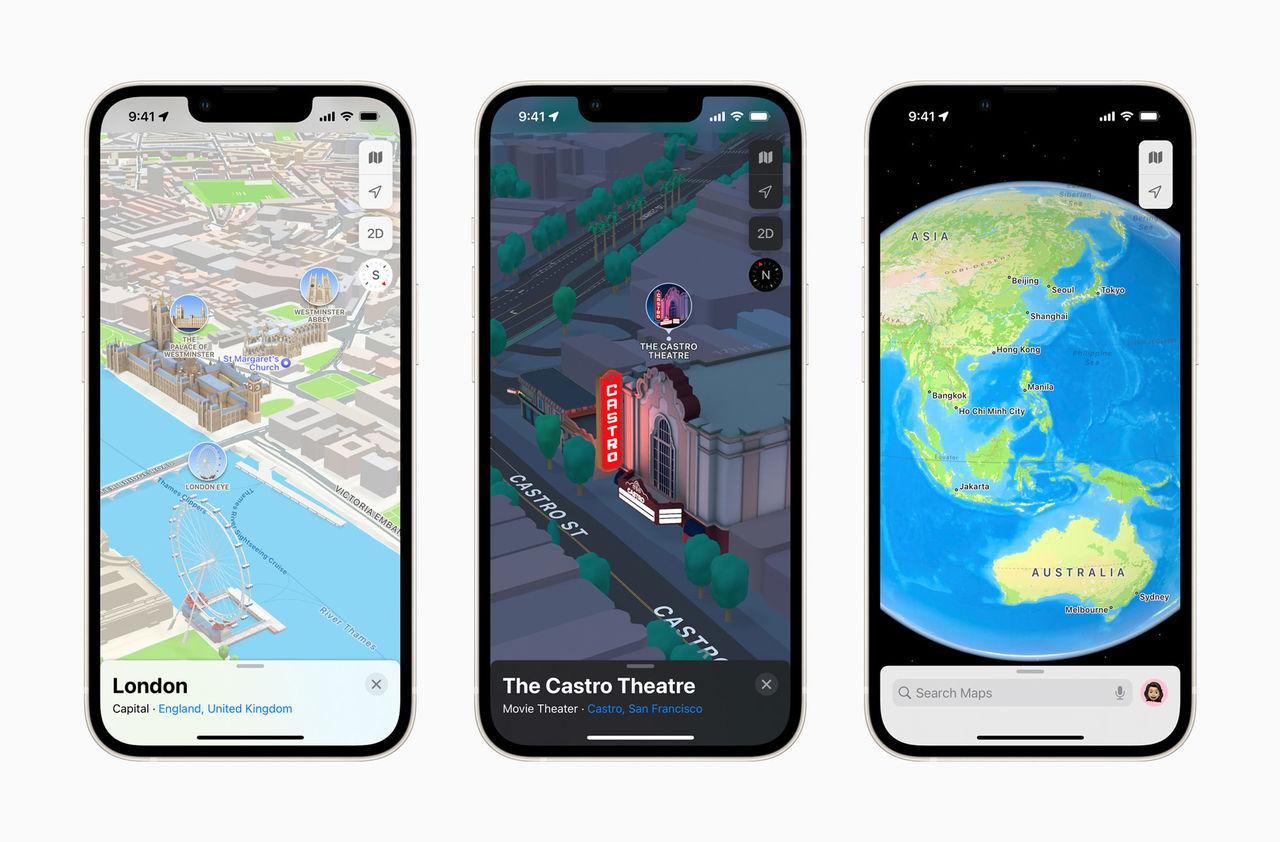 Apple Maps nya 3D-kartor kommer till Europa