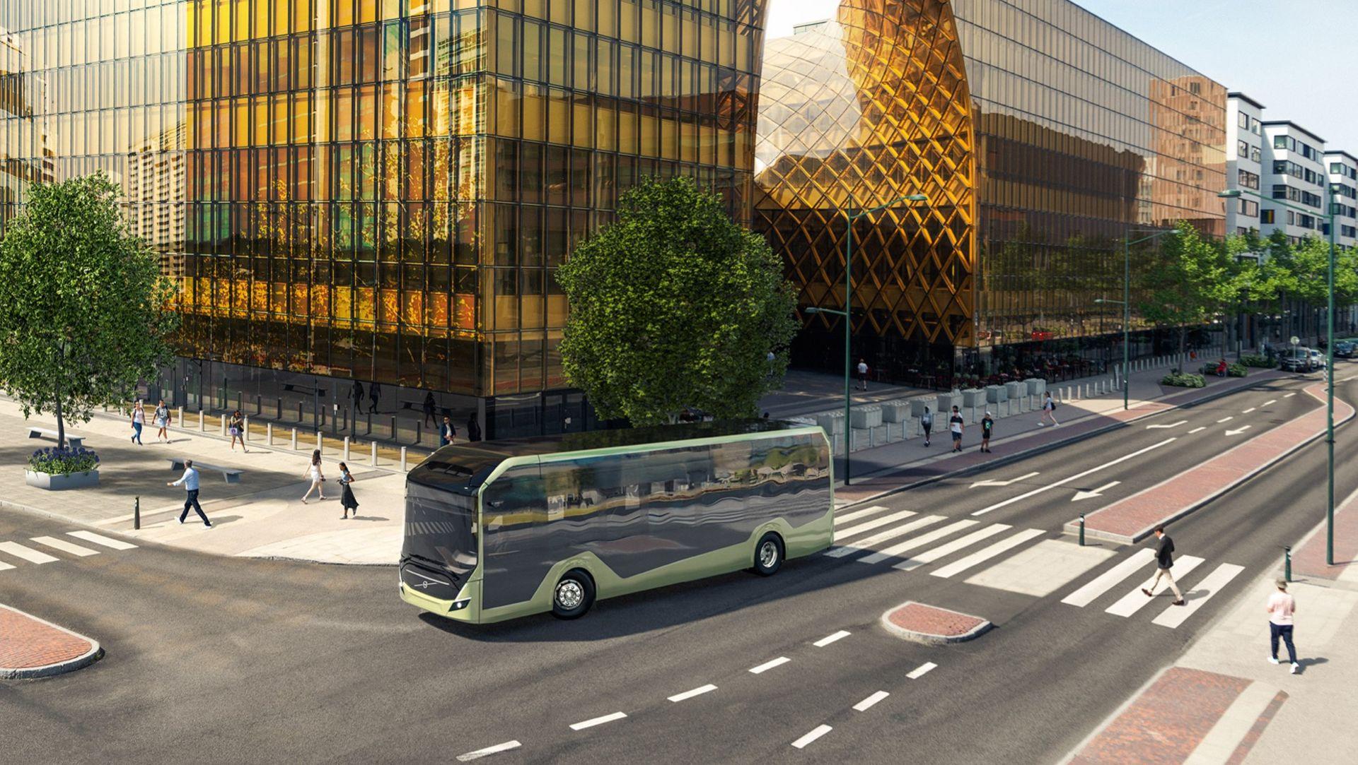 Volvo Bussar presenterar elchassit Volvo BZL Electric