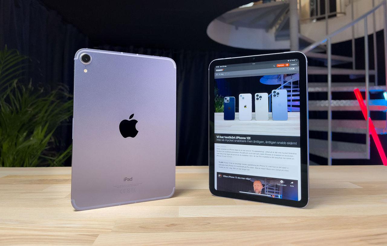 Apple ser inte jelly scrolling på iPad Mini som ett problem