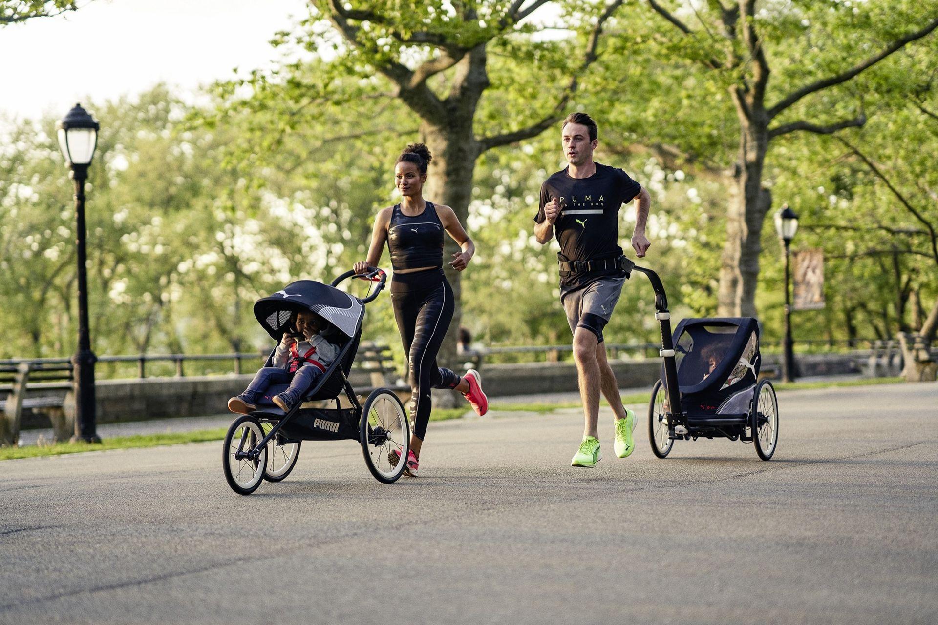 Cybex och Puma tar fram barnvagnar
