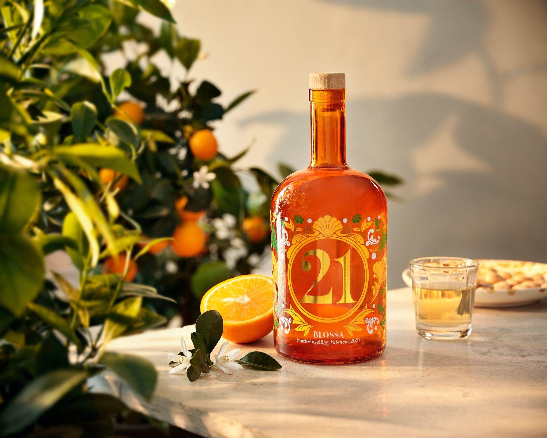 Årets Blossa-glögg har smak av apelsin