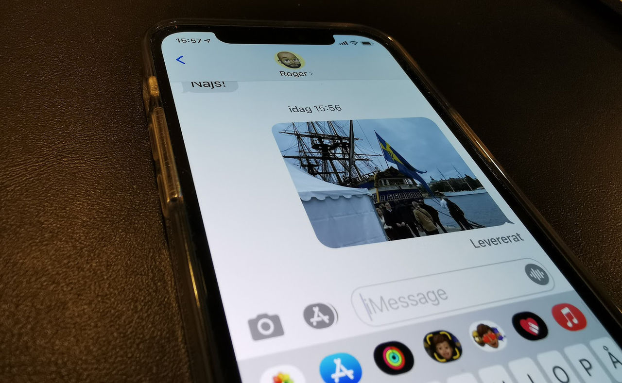 Bugg i Messages i iOS 15 kan radera sparade bilder