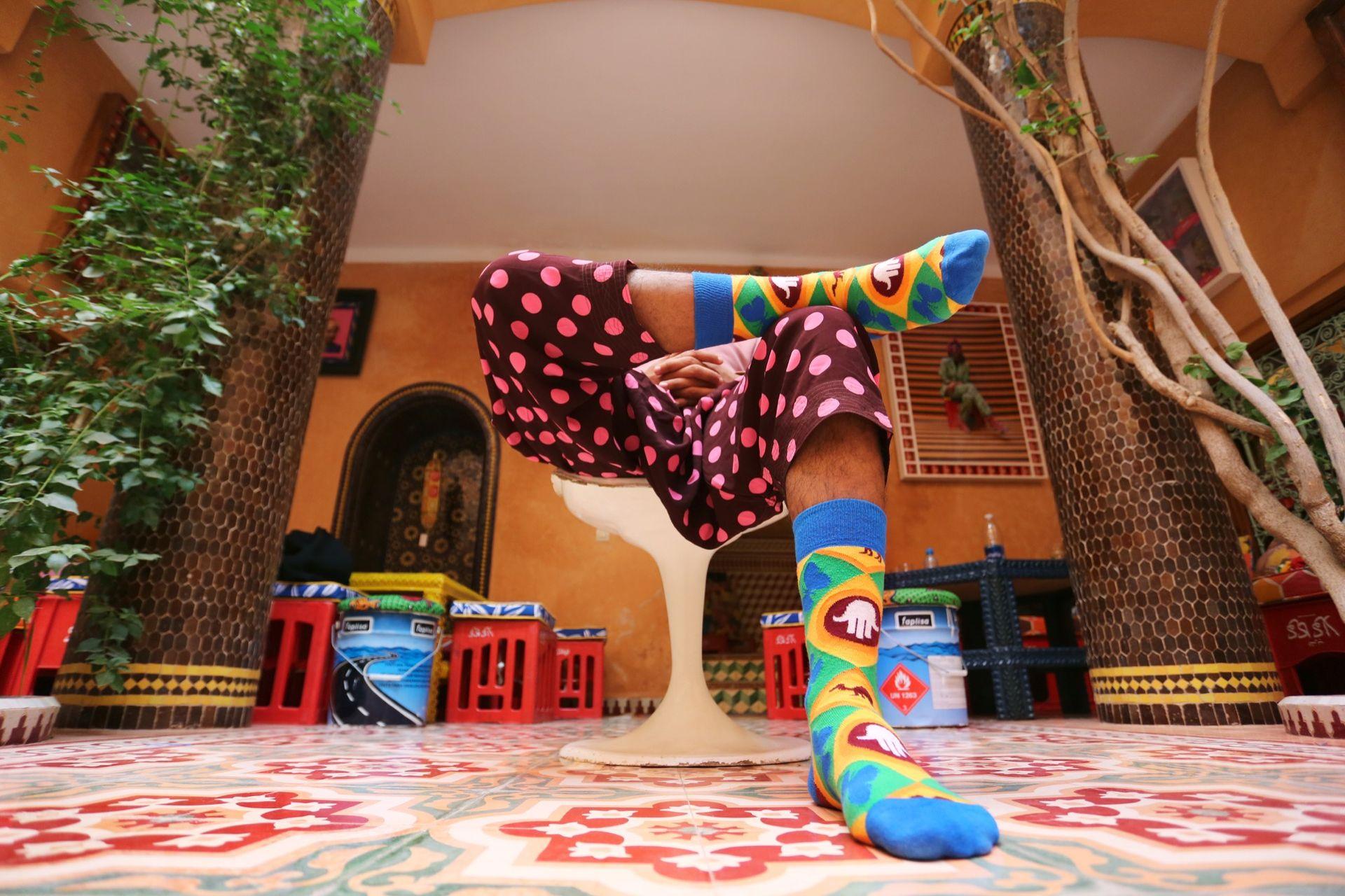Happy Socks och Hassan Hajjaj i samarbete