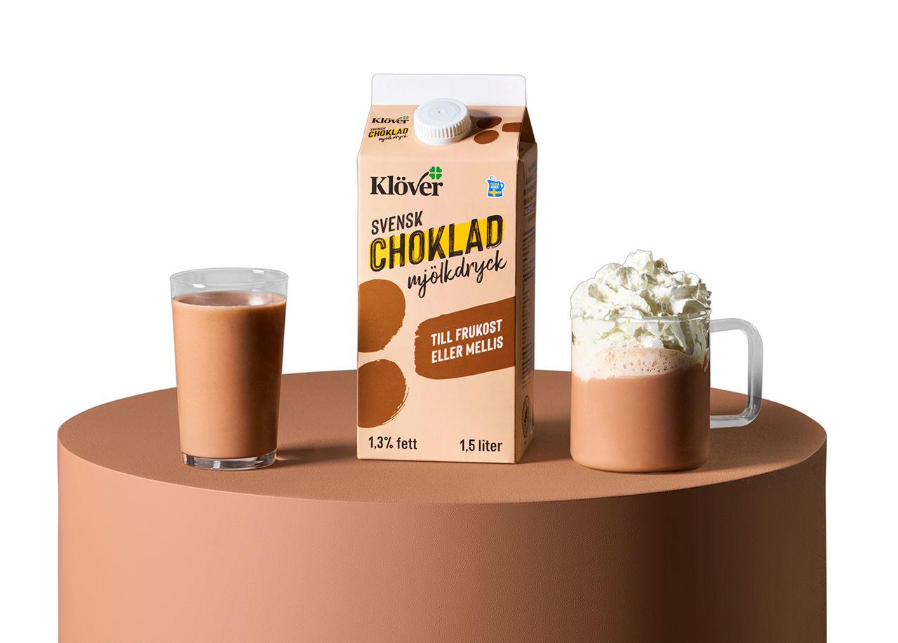 Nu kommer Klövermjölk med chokladsmak
