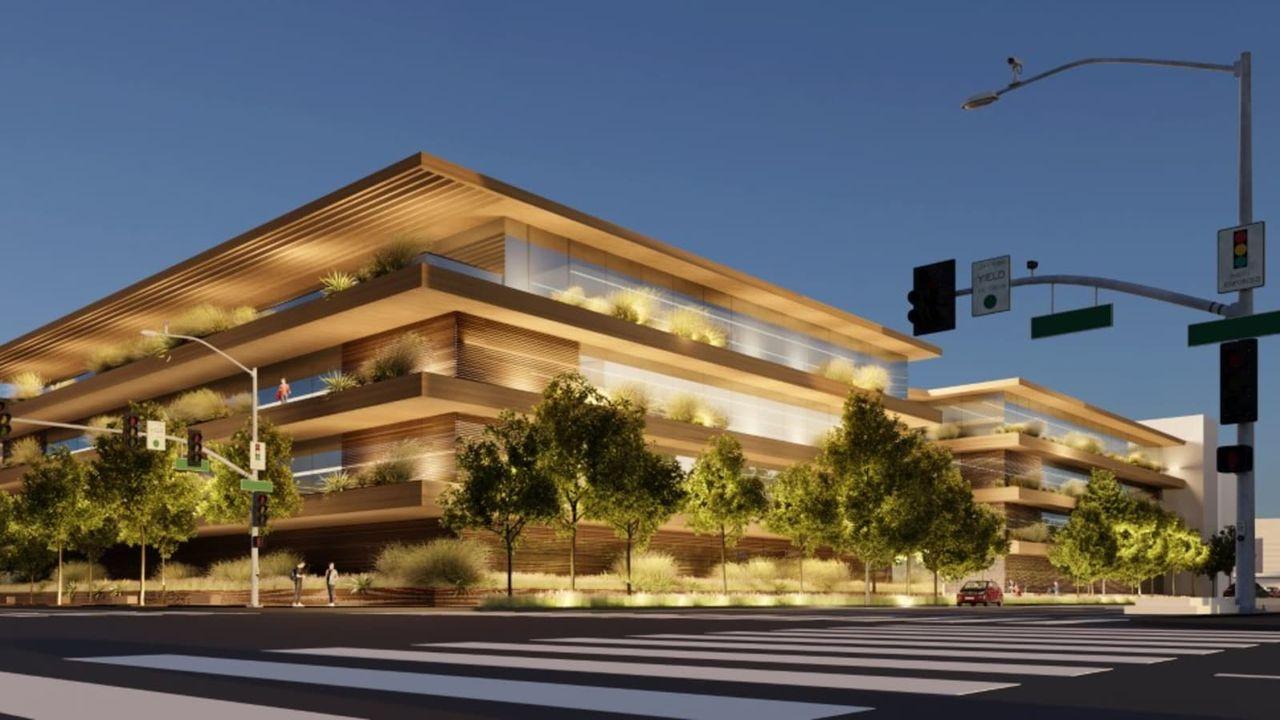Apple bygger nytt kontor i Los Angeles