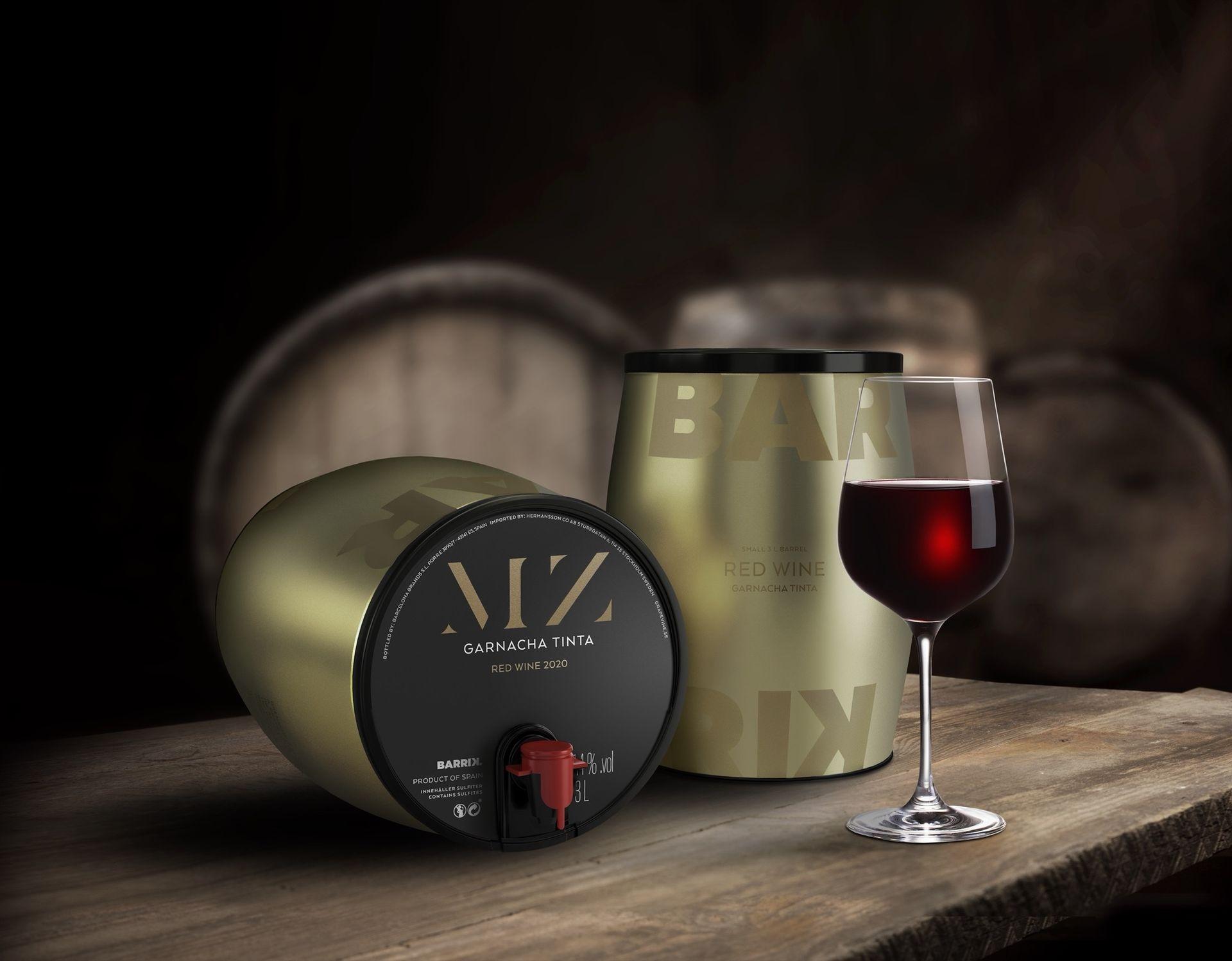 MZ Barrik - nytt rödvin från Måns Zelmerlöw