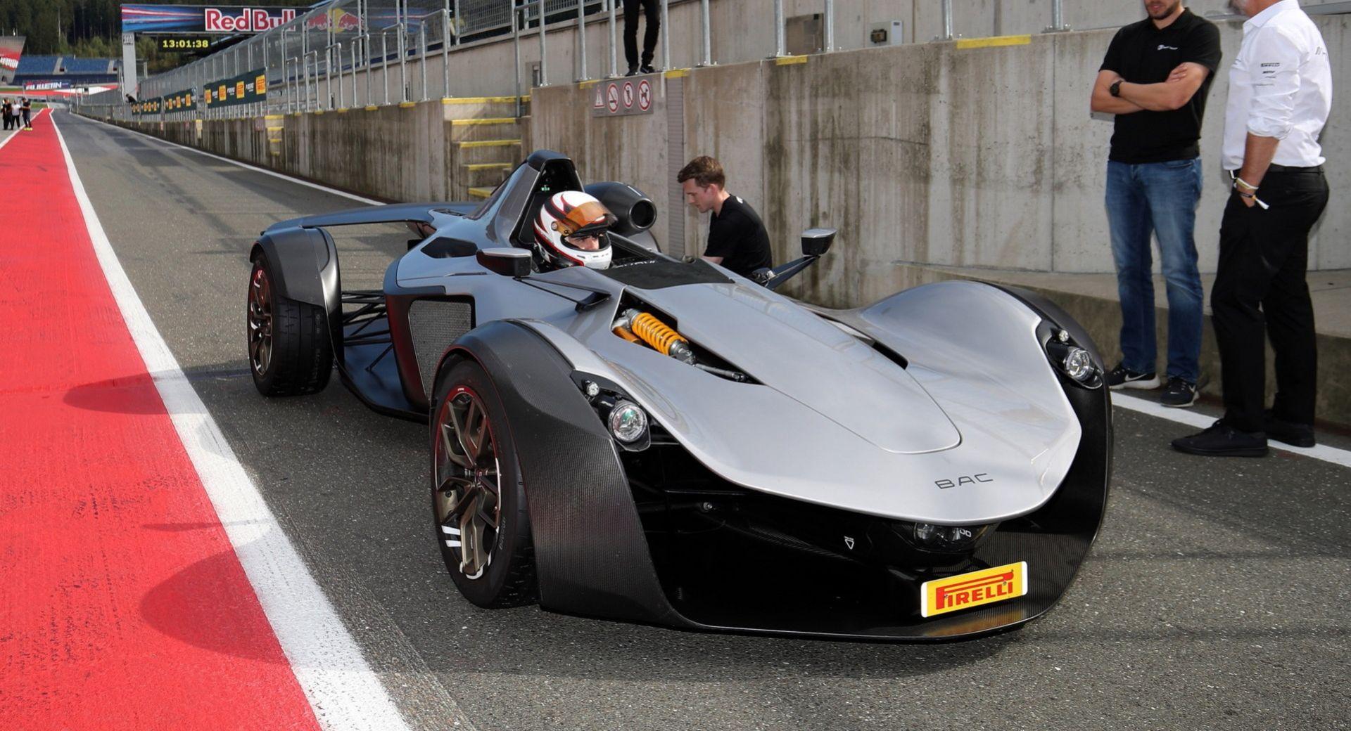 BAC Mono R har satt varvrekord på Red Bull Ring