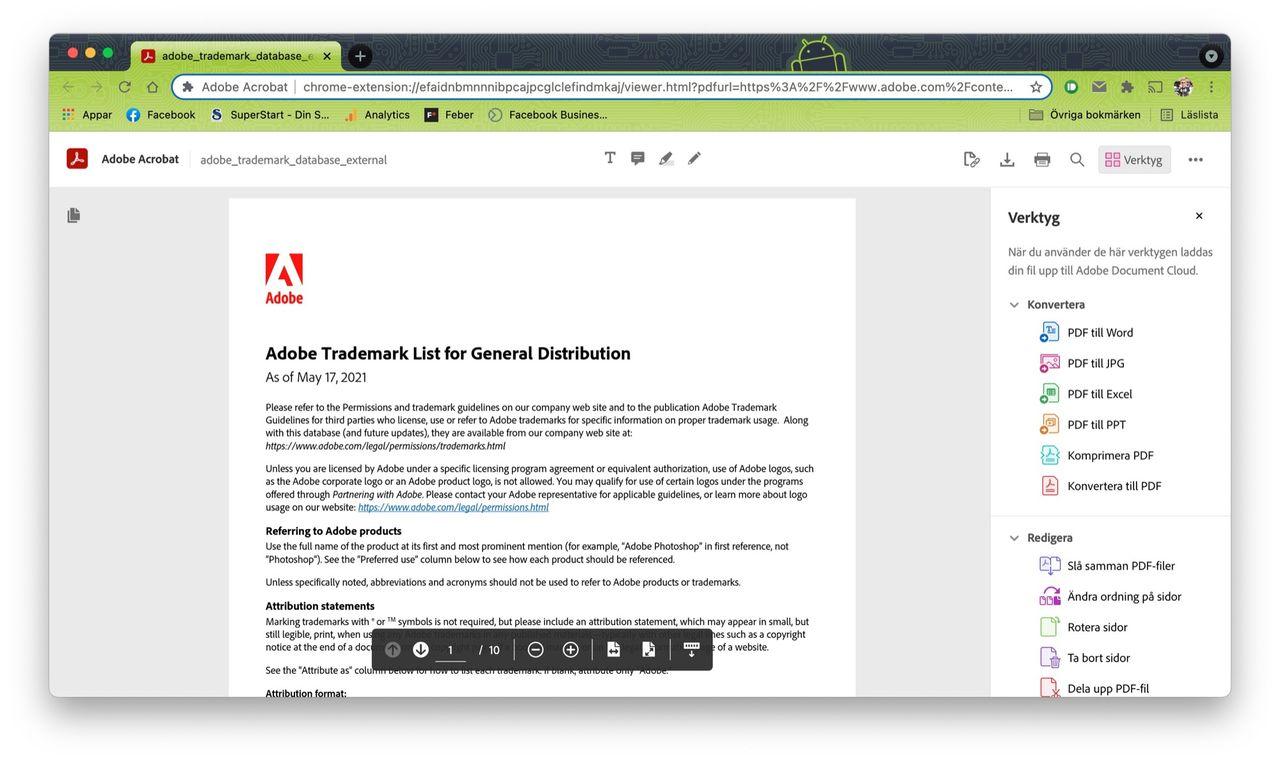 Adobe släpper PDF-plugin till Chrome