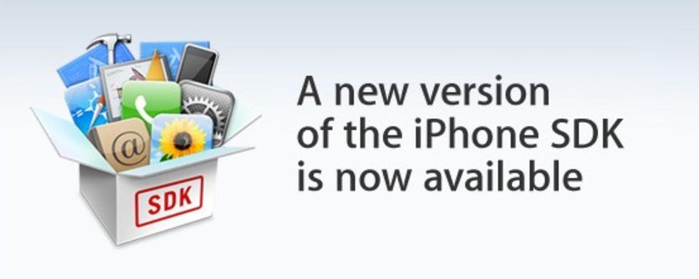 Apple släpper ny version av iPhone SDK