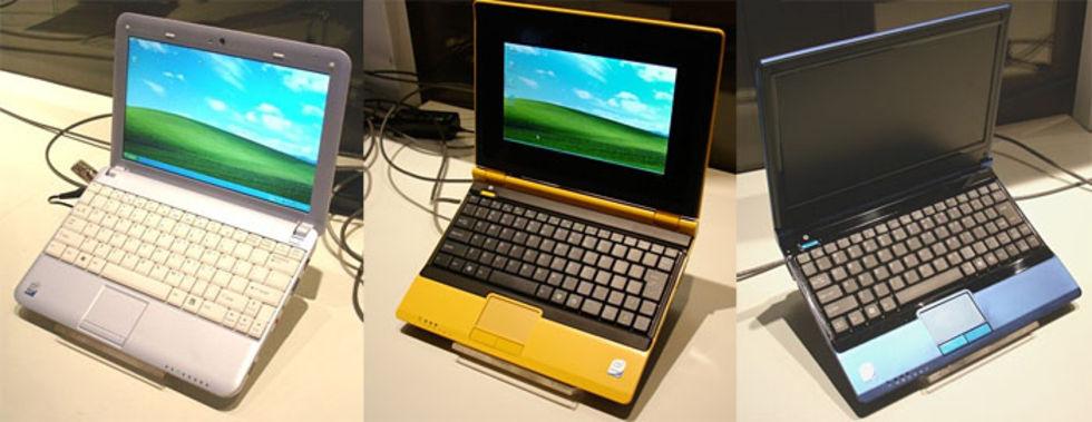 Första datorerna med Intels Atom-processor
