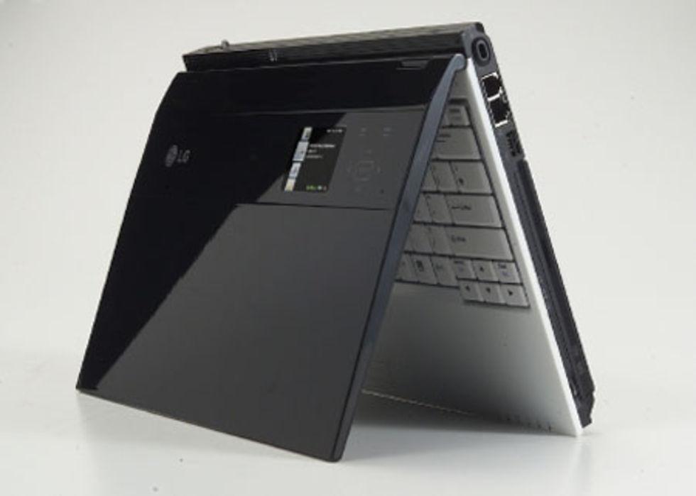 CES 2007: LG visar laptop med SideShow
