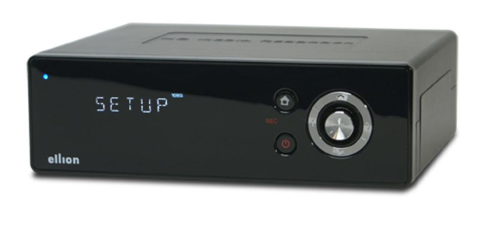 Ellion HMR350 - mediacenter med HD-stöd