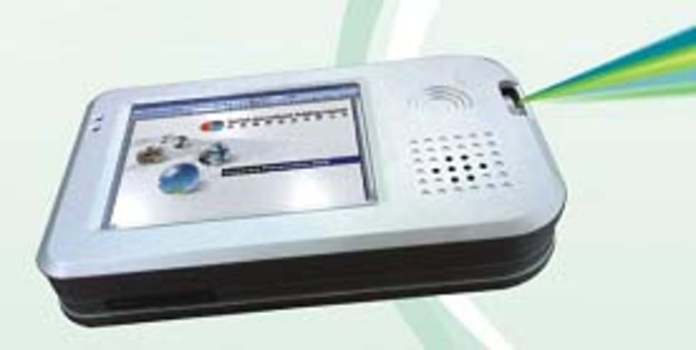 Sunvision PMPP - mediaspelare med inbyggd projektor
