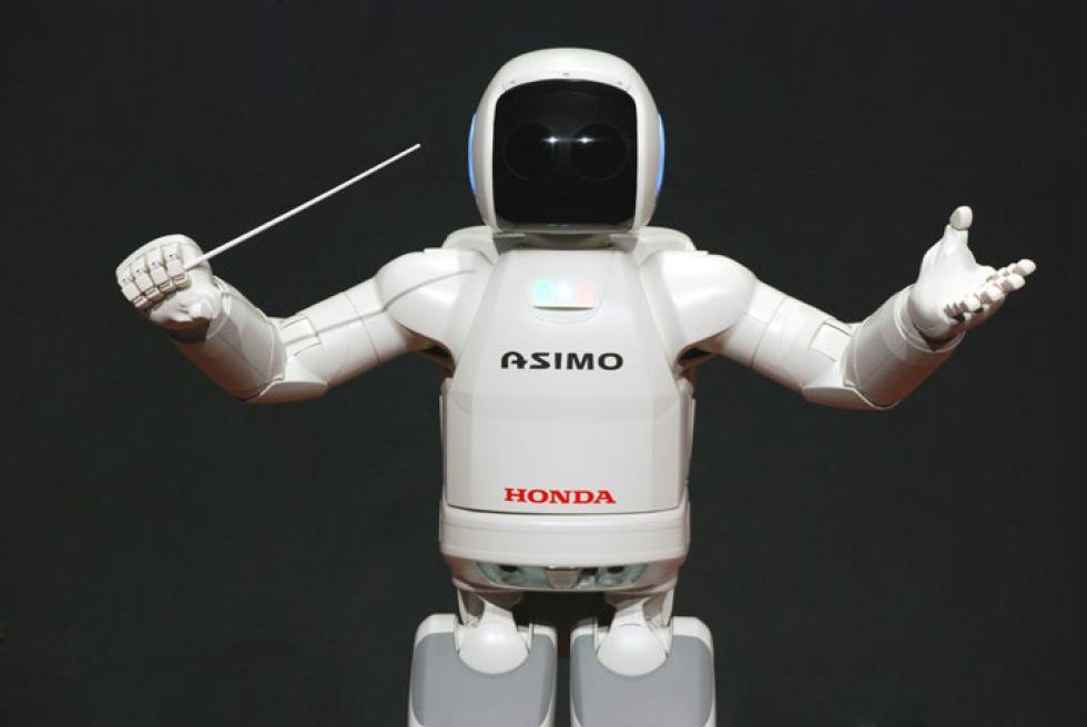 Roboten Asimo dirigerar orkester