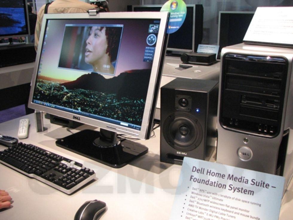 CS 2007: Mediapaket från DELL