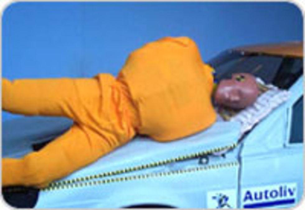 Airbag för motorhuven från Autoliv