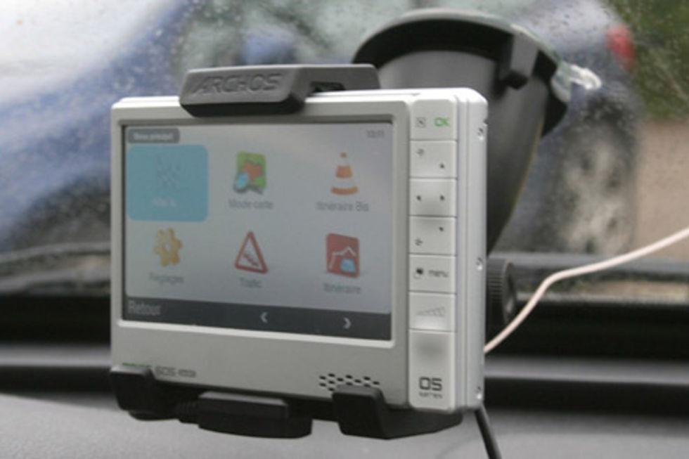 Archos 605 GPS och Flash 9