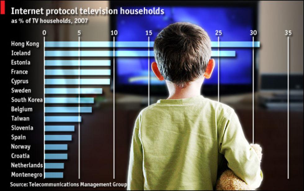 IPTV på hyfsad framfart i Sverige