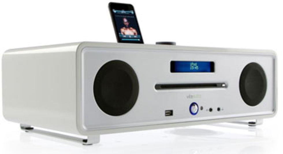 Dejlig DAB-radio med CD och IPod-docka. Ny härlighet från Vita Audio TZ-31