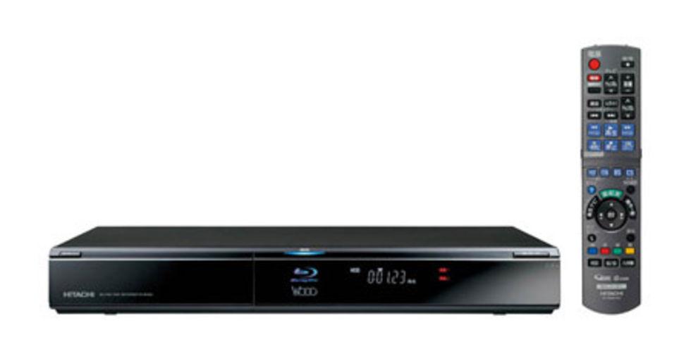 Blu-ray-maskin med hårddisk