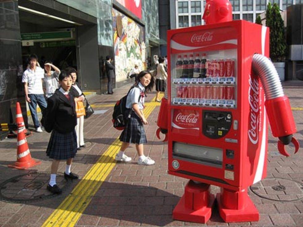 Coca Cola-robot