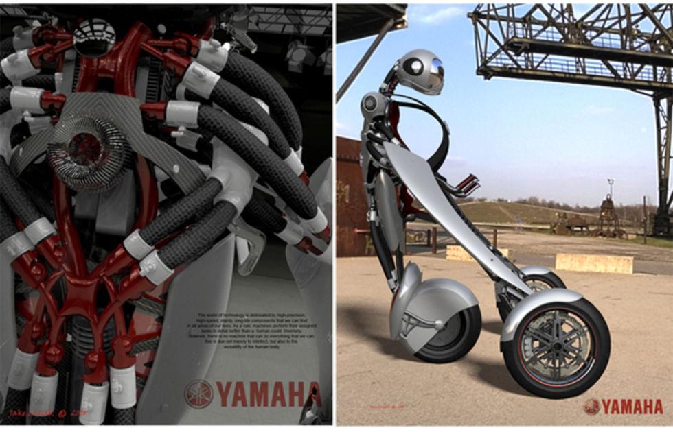Sinnesjukt fordonskoncept från Yamaha
