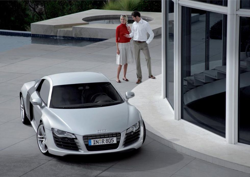 Mer Audi R8, mycket mer