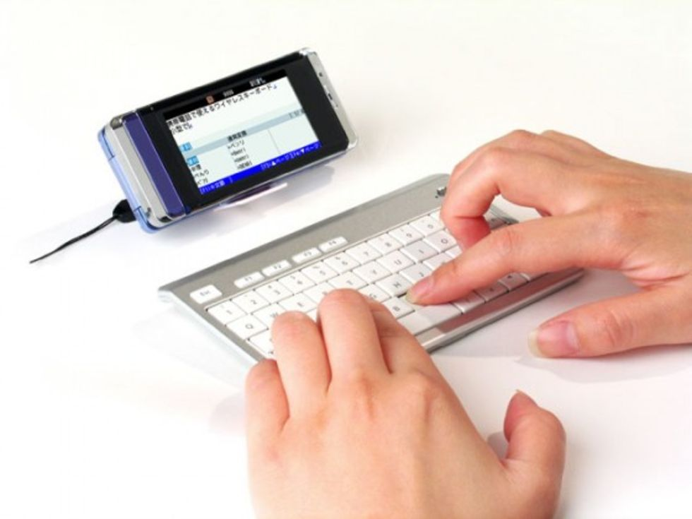 Bluetooth-tangentbord till mobilen. När inte T9 räcker till  274f0e9906635