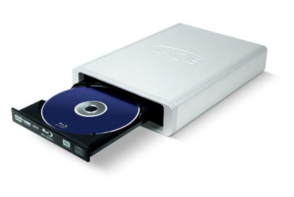 Blu-ray-brännare från LaCie