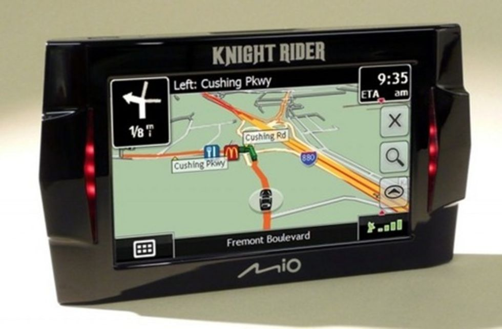Knight Rider-GPS