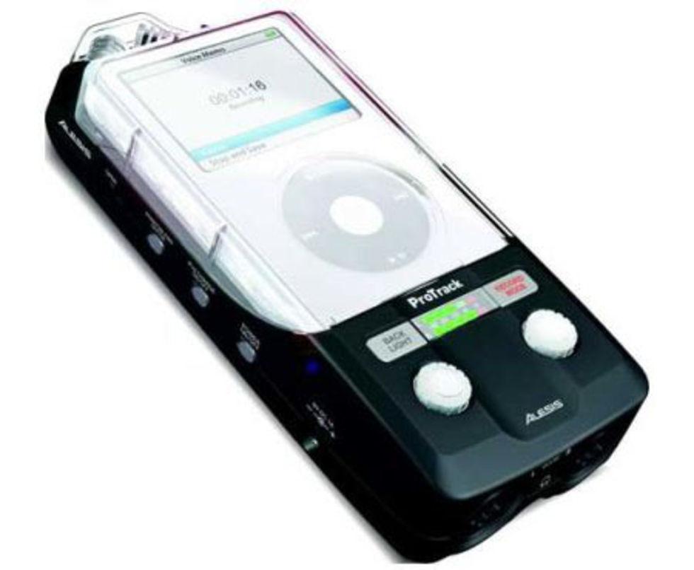 ProTrack gör om iPoden till diktafon
