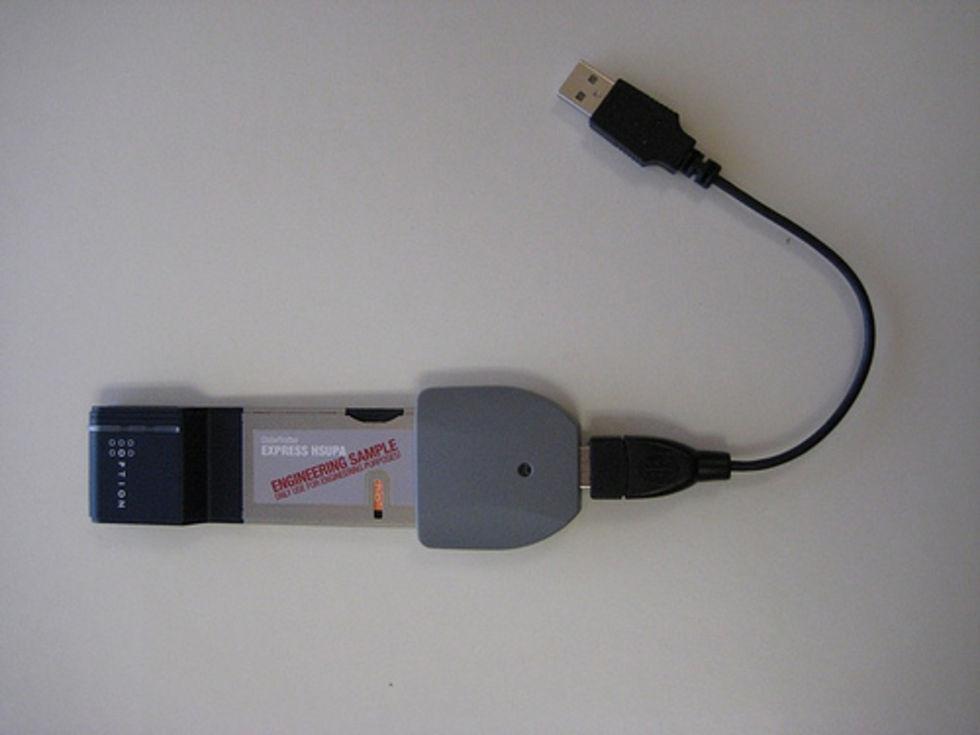 ExpressCard-adapter till USB-porten