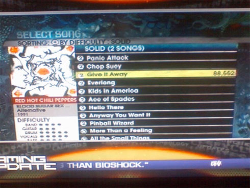 Några nya låtar i Rock Band 2