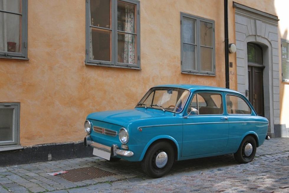 Fiat 850 på söder