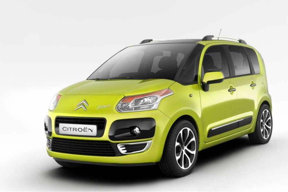Nya Citroën C3 Picasso