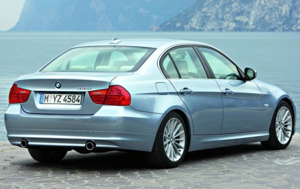 Facelift av BMW 3-serie