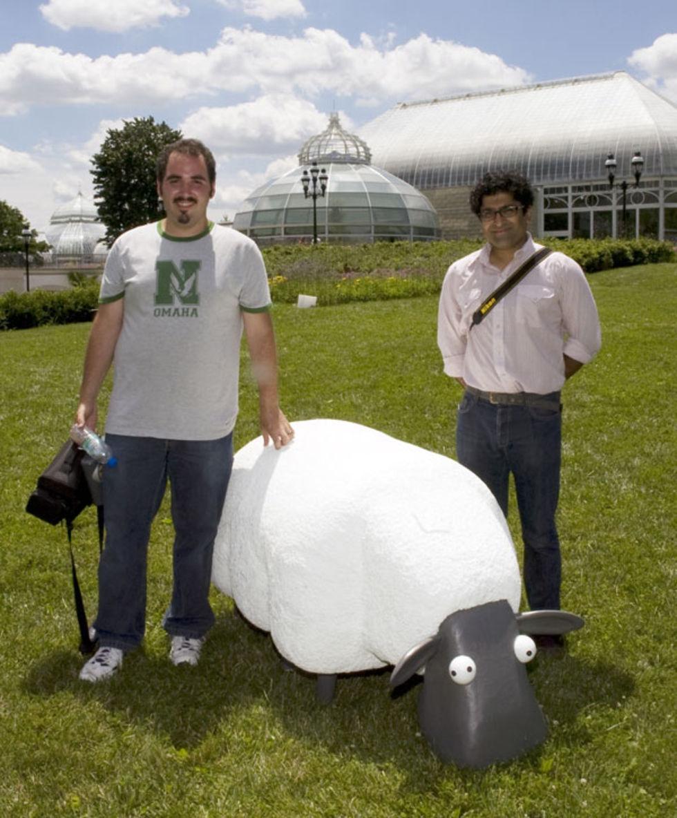 Mower - ett robotfår tittar fram