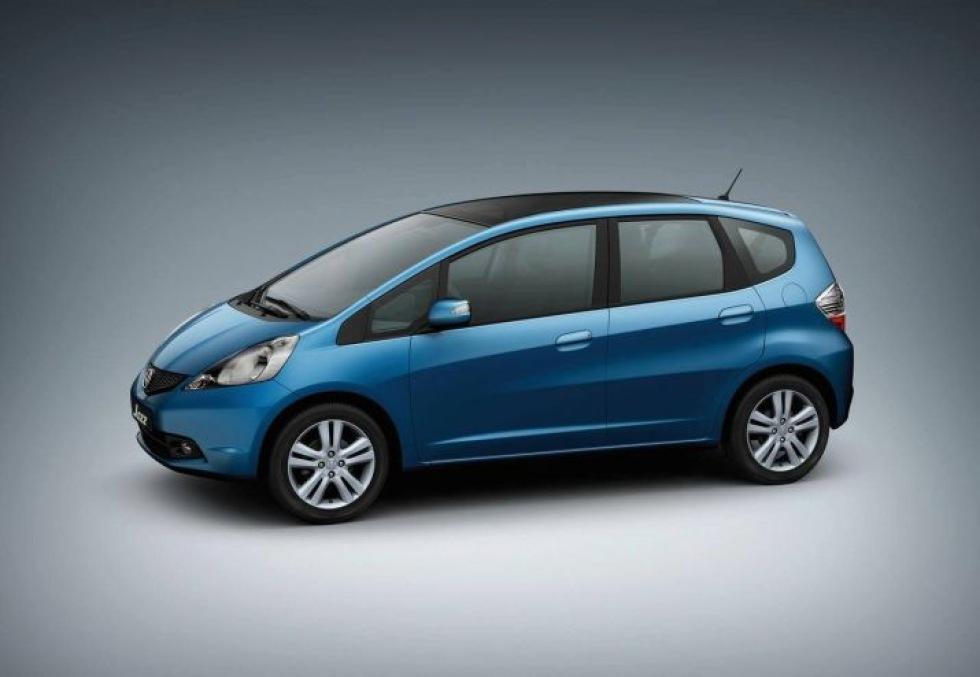 Nu kommer nya Honda Jazz till Europa