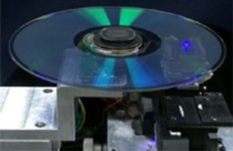 Pioneer utvecklar sin multilager Blu-Ray teknik