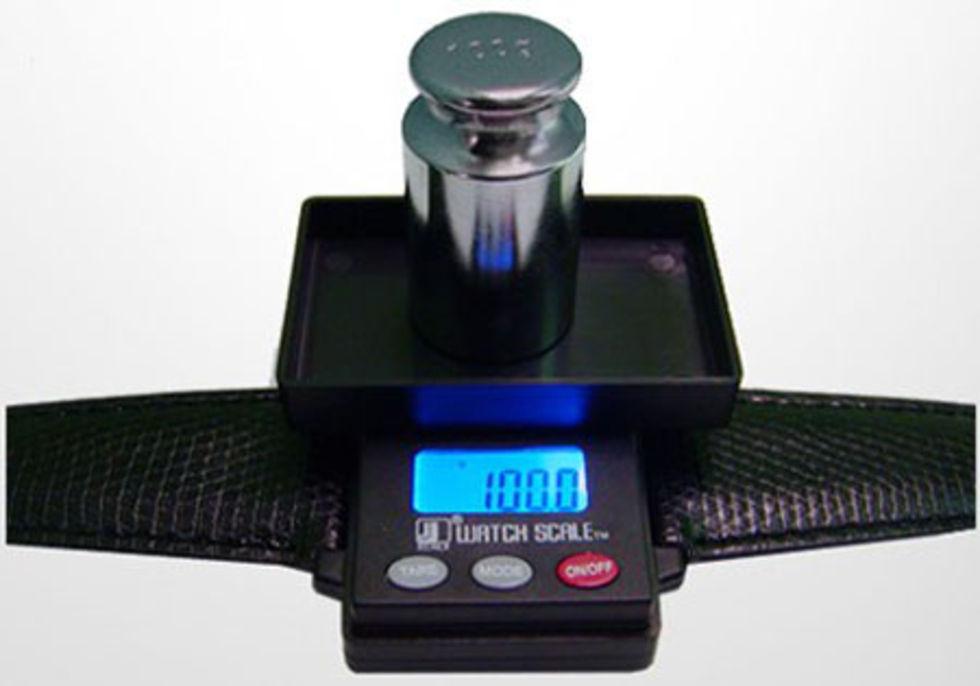 WatchScale - klocka med våg