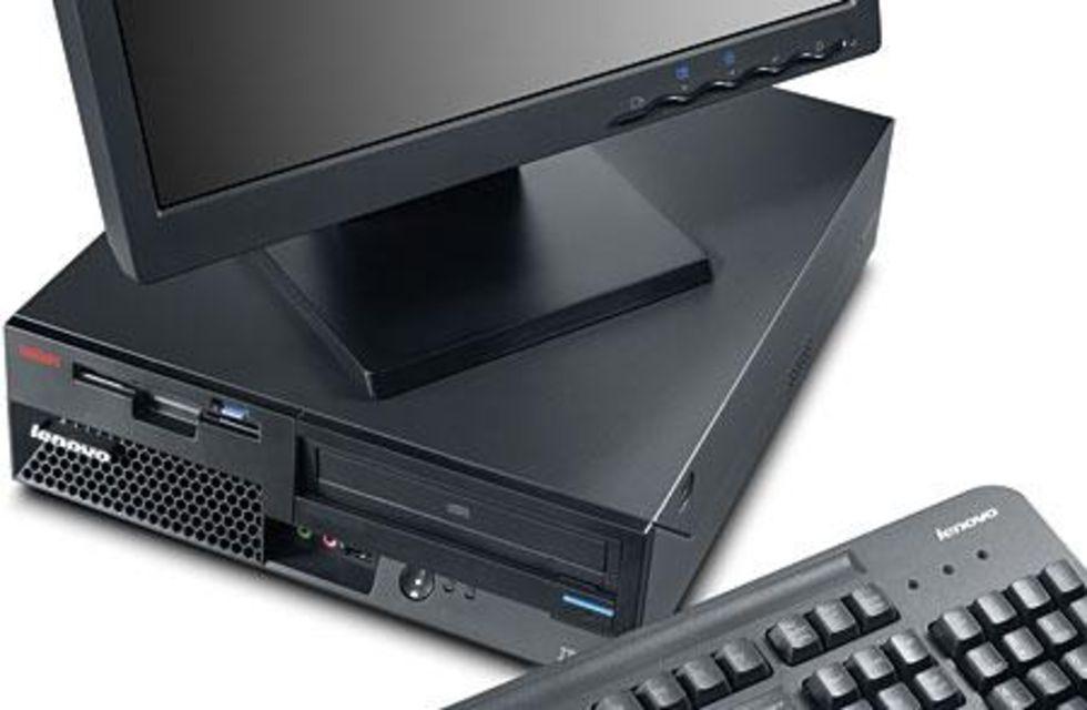Ny Liten Sff Dator Från Lenovo 25 Mindre än Vanligt Feber Pc