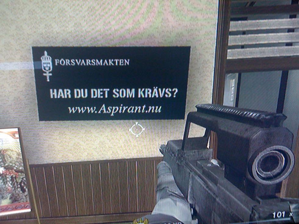 Reklam i spel
