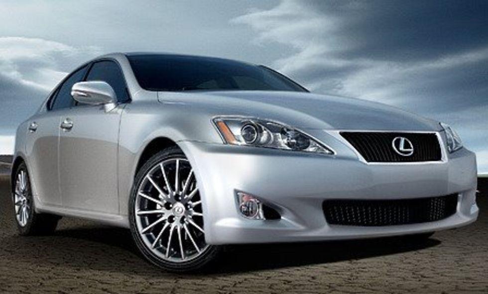 Facelift av Lexus IS