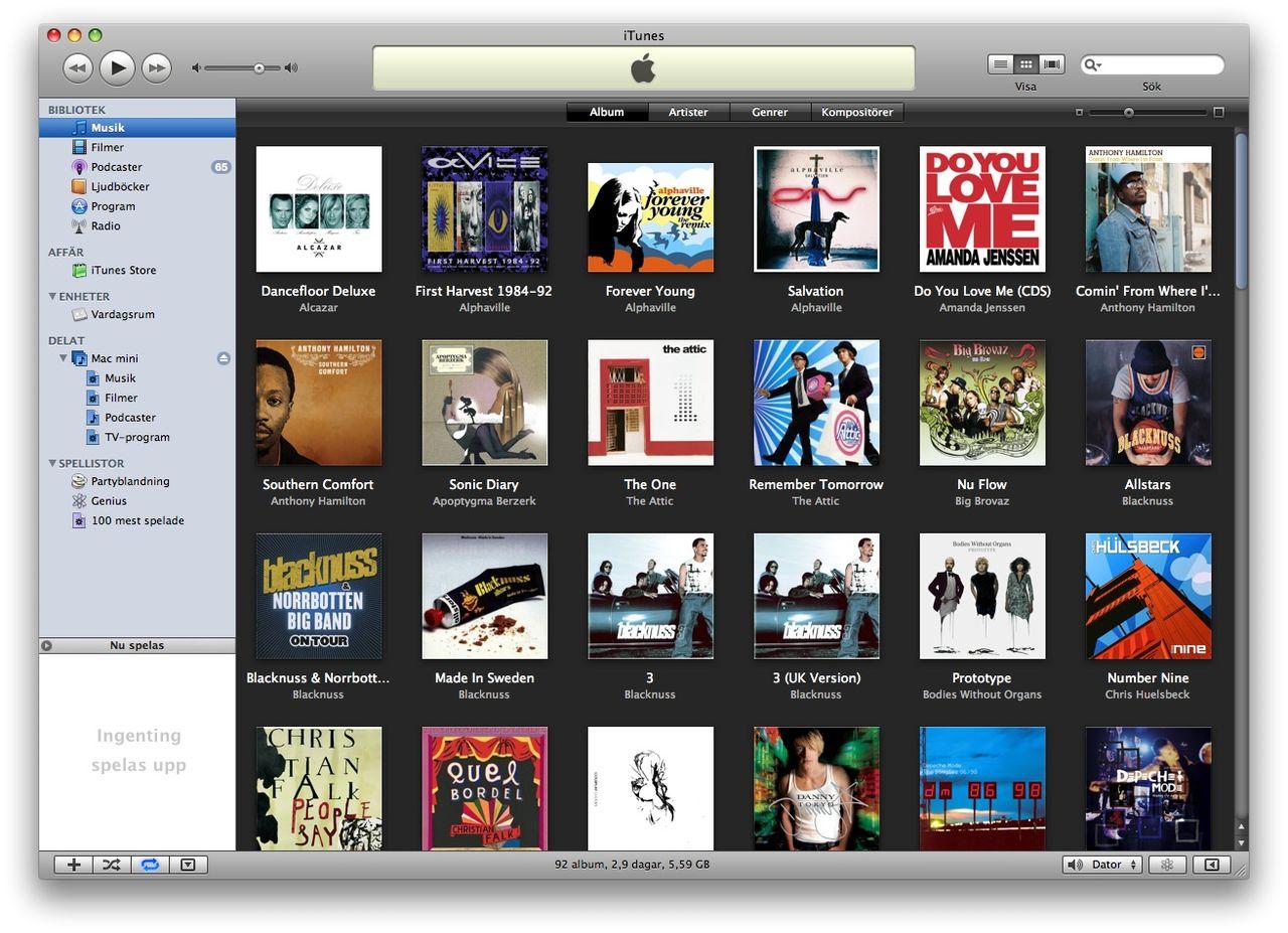 iTunes 8 - något mer blandade känslor