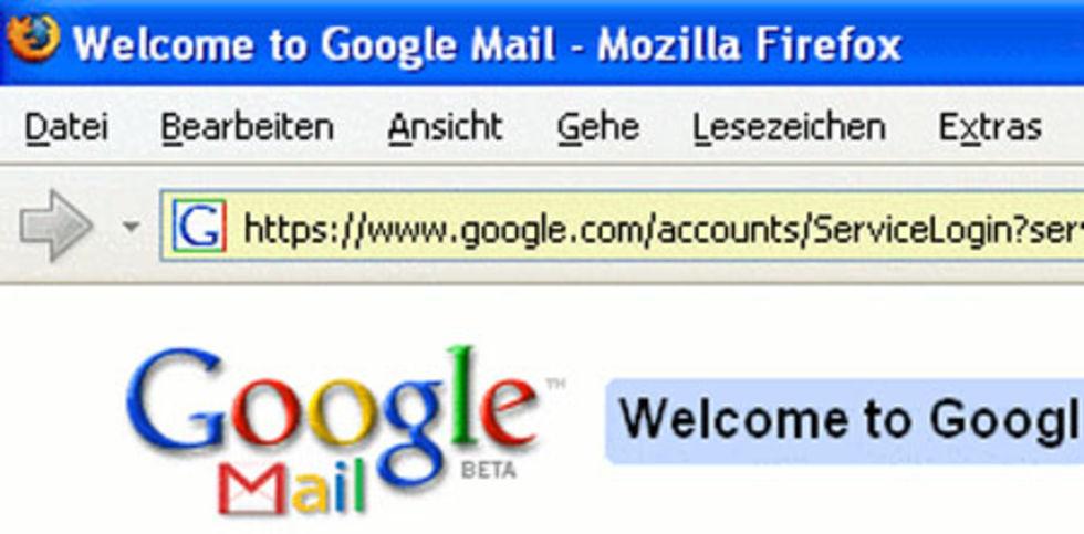 Google förlorar Gmail i Europa