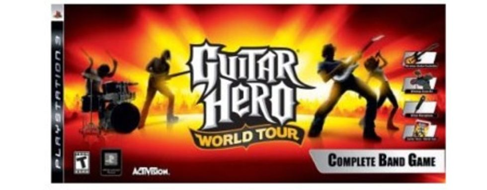 Låtarna i Guitar Hero World Tour