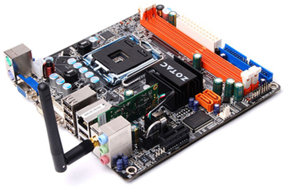Zotac Mini-ITX har trevliga funktioner