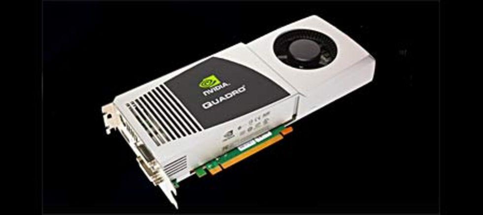 NVIDIA släpper Quadro FX 5800