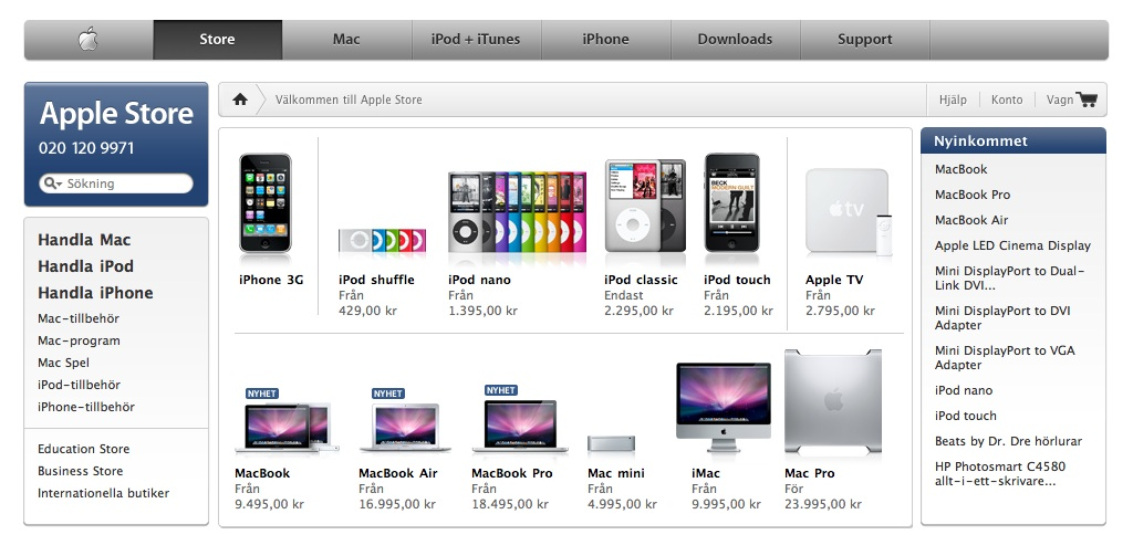 Apple kampanjkod