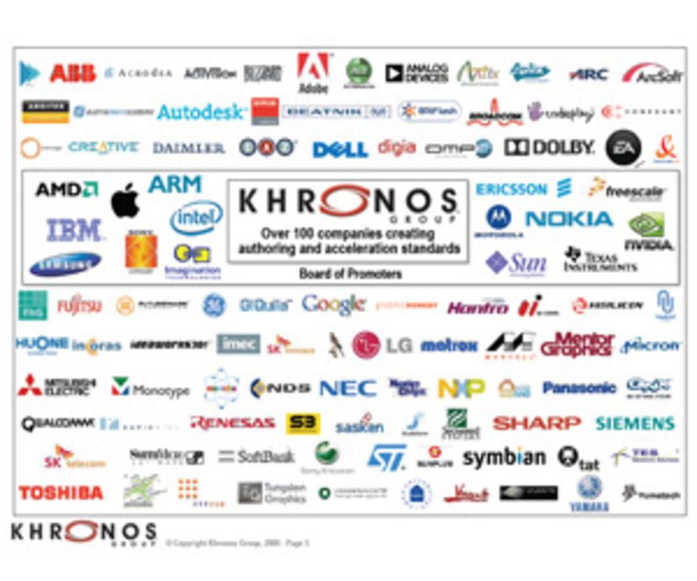 Khronos Group släpper OpenCL 1.0